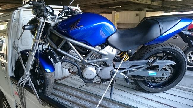 厚木市バイク買取、VTR250