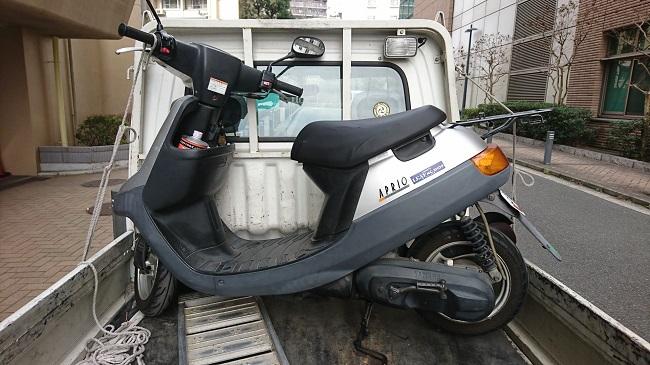 相模原市バイク買取、JOGアプリオ