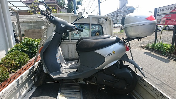 相模原市緑区バイク廃車